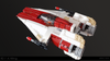 Image of RZ-1 A-wing Starfighter - Minifig Scale