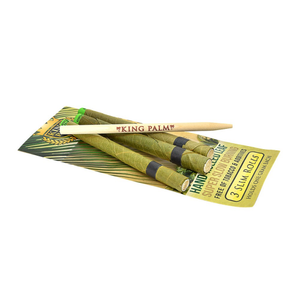 king palm. wraps, cones, rolling, papers