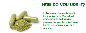 Kratom, powder, capsules, drink, how to use kratom