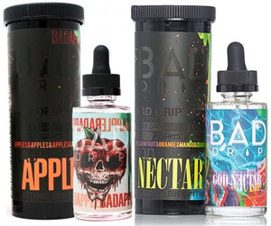 bad drip, apple, god nectar, ejuice, vape, vape juice, eliquid