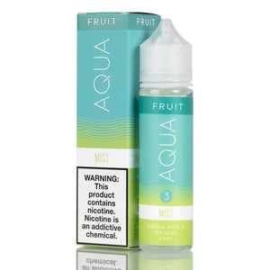 aqua, mist, apple, kiwi, vape, juice, eliquid