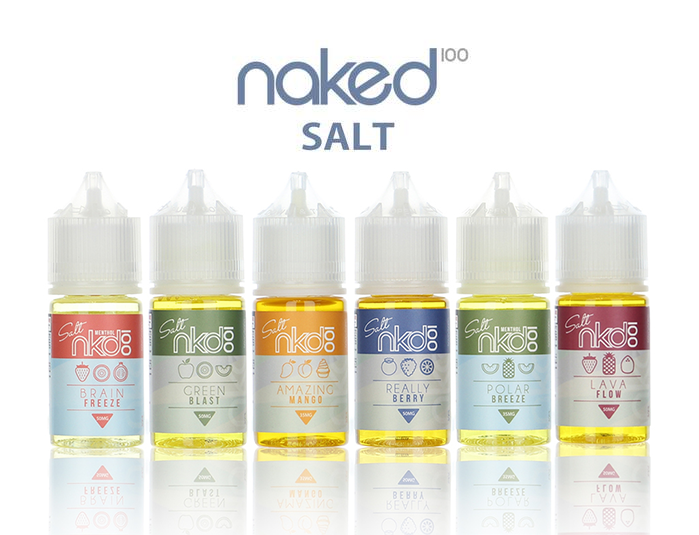 naked 100, vape juice, salt nicotine, pods