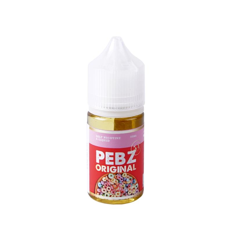 pebz original, pebz, cereal, salt, nicotine, juice