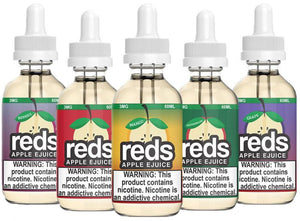 reds apple juice, ejuice, menthol, vape