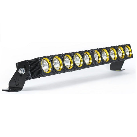 "Image of KC HiLiTES 10"" Flex Array LED Light Bar - Hellfire Offroad Lighting"