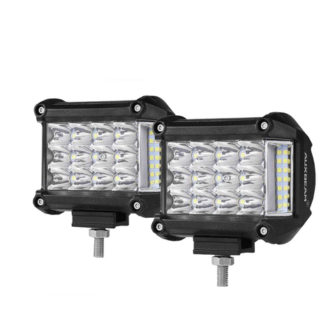 "Auxbeam (2pcs/Set) 360 Series 4"" 18w Philips Combo Side Shooter Pods - Hellfire Offroad Lighting"
