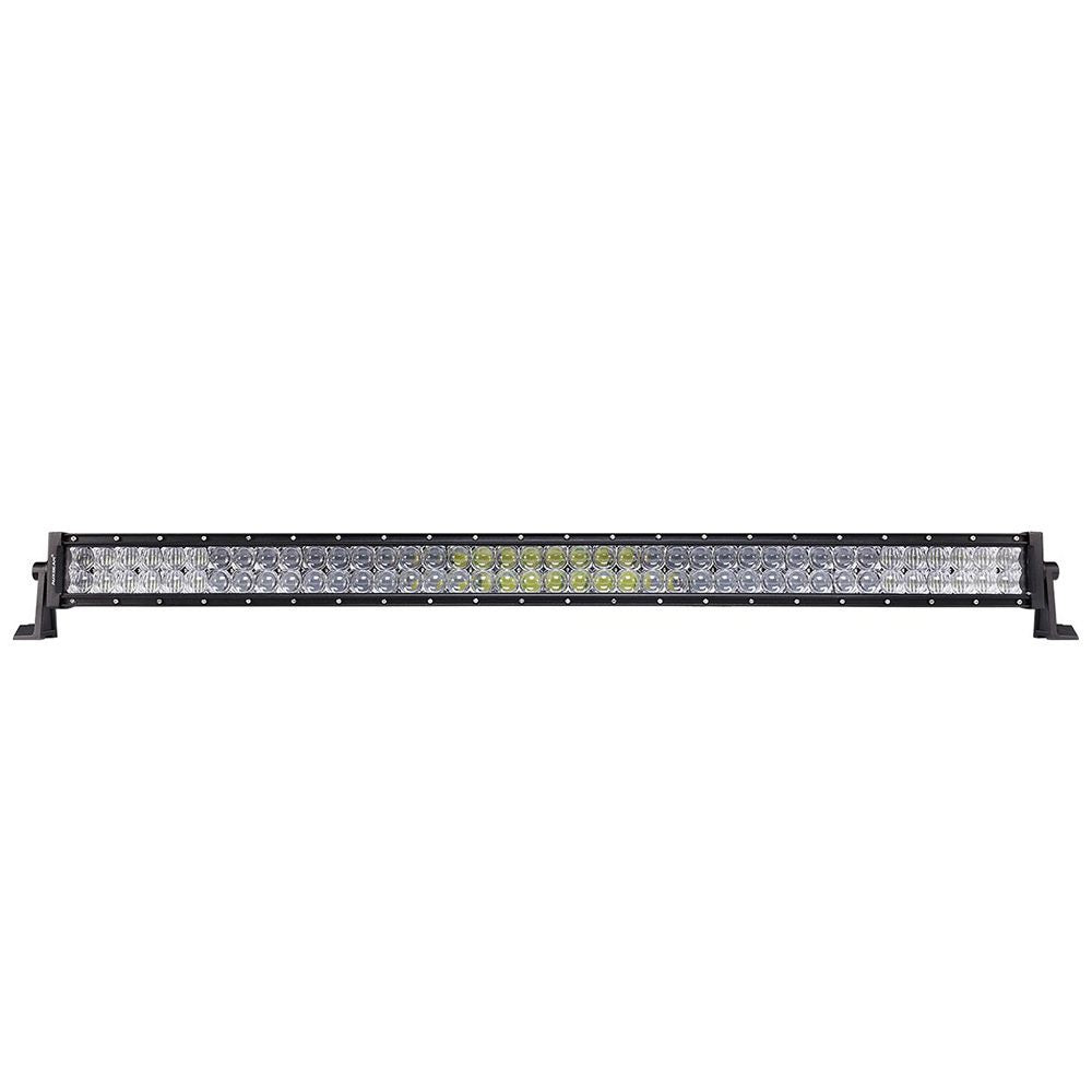 "Auxbeam 42"" 240w CREE Combo Straight LED Light Bar (5d Projector Lens) - Hellfire Offroad Lighting"