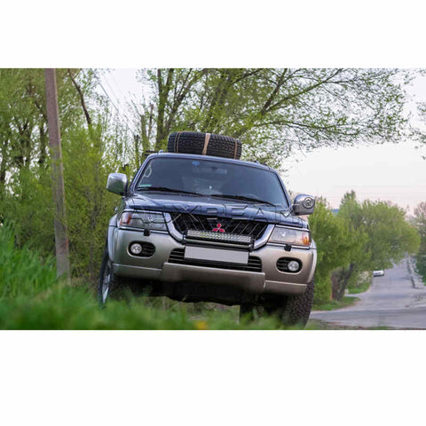 "Image of Auxbeam 22"" 120w CREE Curved Combo LED Light Bar (5d Projector Lens) - Hellfire Offroad Lighting"