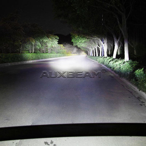 "Image of Auxbeam 52"" 300w CREE Curved Combo LED Light Bar (5d Projector Lens) - Hellfire Offroad Lighting"