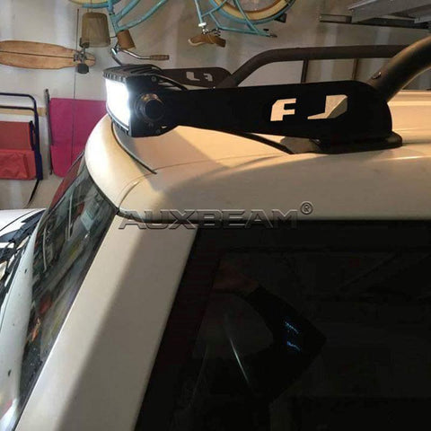 "(2PCS/SET) WINDSHIELD 52"" LED LIGHT BAR MOUNTS FOR 07-14 TOYOTA FJ CRUISER - Hellfire Offroad Lighting"