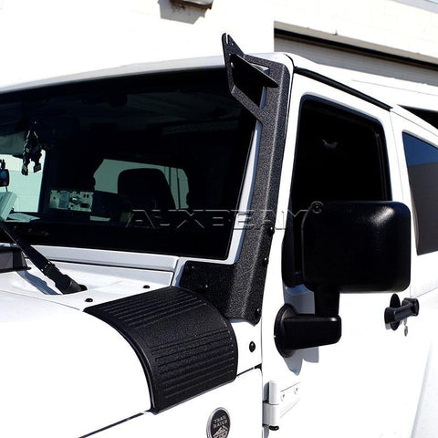 "Image of (2PCS/SET) WINDSHIELD MOUNTING BRACKET 50"" STRAIGHT LIGHT BAR FOR 07-15 JEEP WRANGLER - Hellfire Offroad Lighting"