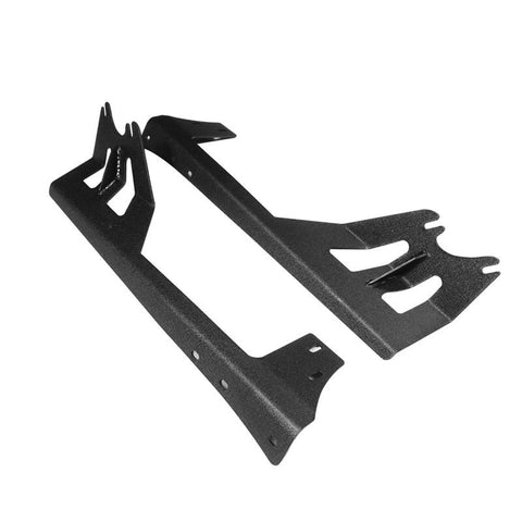 "(2PCS/SET) 50""  STRAIGHT LIGHT BAR WINDSHIELD MOUNTING BRACKETS 07-17 JEEP WRANGLER JK - Hellfire Offroad Lighting"