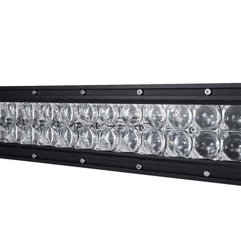 "Image of Auxbeam 42"" Color Changing/RGB Combo Straight LED Light Bar 240w (5d Projector Lens) - Hellfire Offroad Lighting"