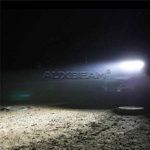 "Image of Auxbeam Honeycomb Series 50"" 192w Straight Combo Beam Triple-Row LED Light Bar - Hellfire Offroad Lighting"