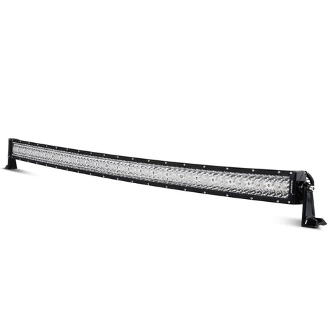 "Auxbeam Honeycomb Series 50"" 192w Curved Combo Beam Triple-Row LED Light Bar - Hellfire Offroad Lighting"