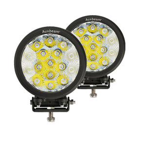 "Auxbeam 7"" 80w CREE Round Combo Beam Off Road Led Driving Light (2pc/Set) - Hellfire Offroad Lighting"