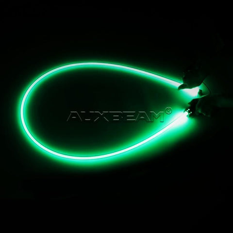 Auxbeam 6' LED Whip - Green - Hellfire Offroad Lighting