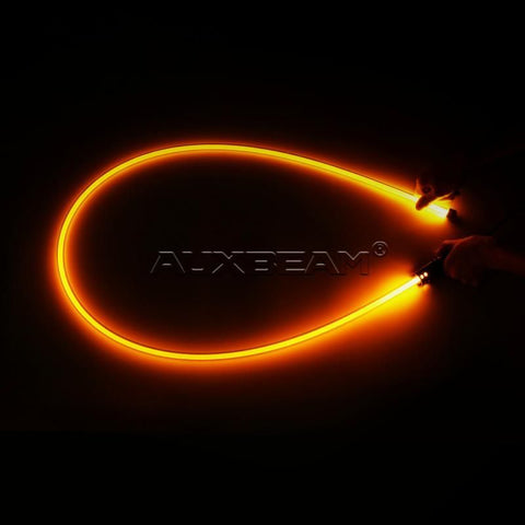 Auxbeam 6' LED Whip - Amber - Hellfire Offroad Lighting