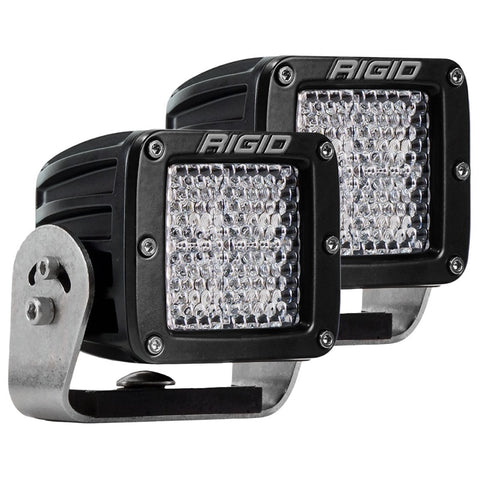 Image of RIGID D-Series PRO Flood Diffused (Pair) - Hellfire Offroad Lighting