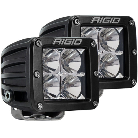 RIGID D-Series PRO Spot (Pair) - Hellfire Offroad Lighting