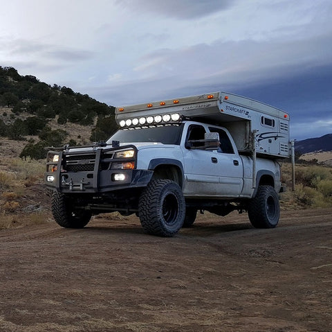 "Image of KC HiLiTES Gravity PRO6 LED Light Bar (20"" Universal 3-Ring) - Hellfire Offroad Lighting"