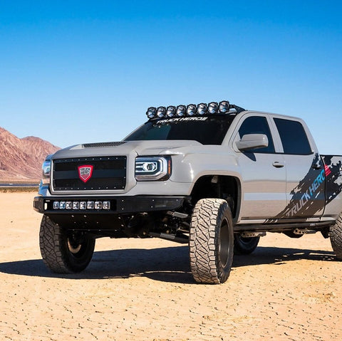 "Image of KC HiLiTES Gravity PRO6 LED Light Bar (50"" F-150/Raptor 8-Ring) - Hellfire Offroad Lighting"