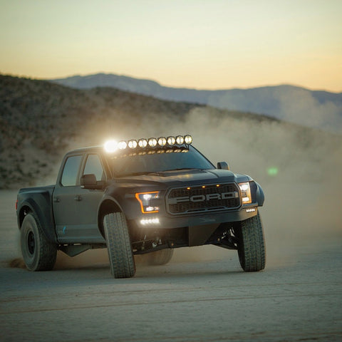"KC HiLiTES Gravity PRO6 LED Light Bar (50"" F-150/Raptor 8-Ring) - Hellfire Offroad Lighting"