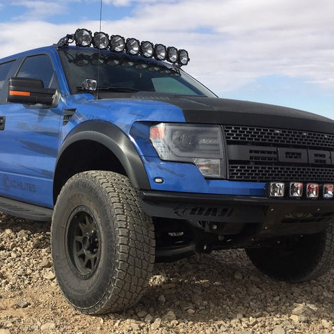 "Image of KC HiLiTES Gravity PRO6 LED Light Bar (57"" Universal 9-Ring) - Hellfire Offroad Lighting"