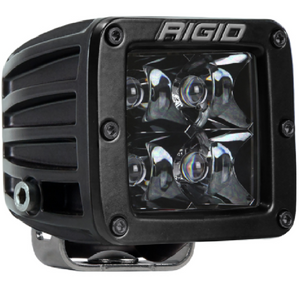 RIGID D-Series Midnight Optic Spot Light (single) - Hellfire Offroad Lighting