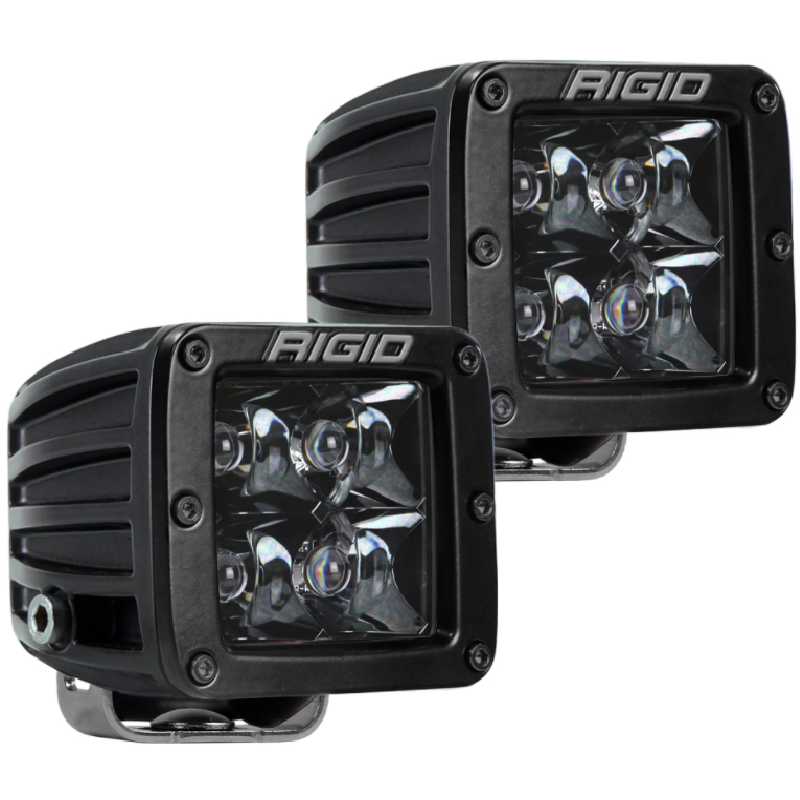 RIGID D-Series Midnight Optic Spot Light (pair) - Hellfire Offroad Lighting