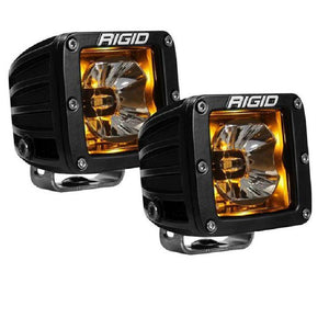 RIGID Radiance Pods - Amber (pair) - Hellfire Offroad Lighting