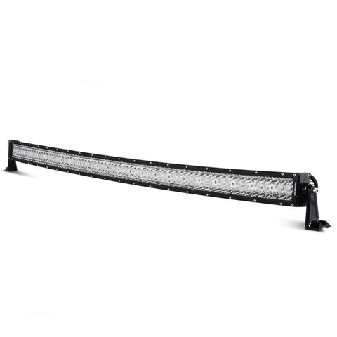 "Image of Auxbeam Honeycomb Series 50"" 192w Curved Combo Beam Triple-Row LED Light Bar - Hellfire Offroad Lighting"