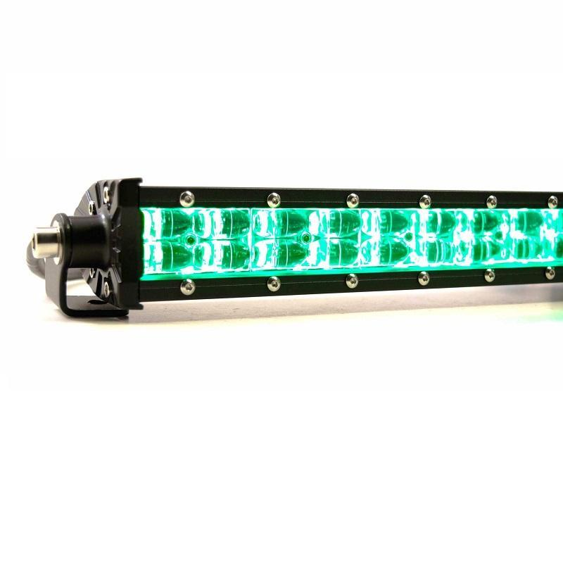 "Profile Performance RGBAR 8"" Color-Changing LED Light Bar - Hellfire Offroad Lighting"