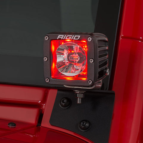 Image of RIGID Radiance Pods - Red (pair) - Hellfire Offroad Lighting