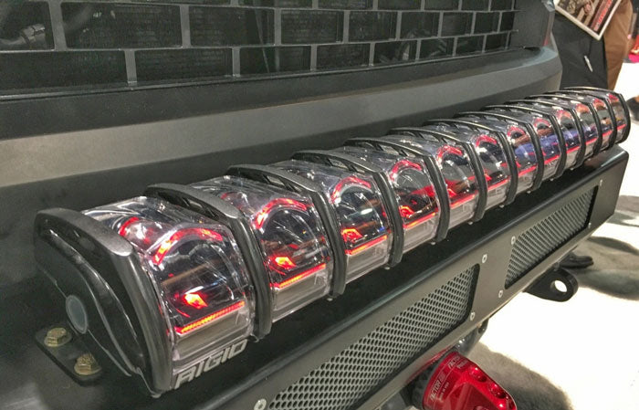 Rigid Light Bar >> Rigid Adapt 30 Led Light Bar