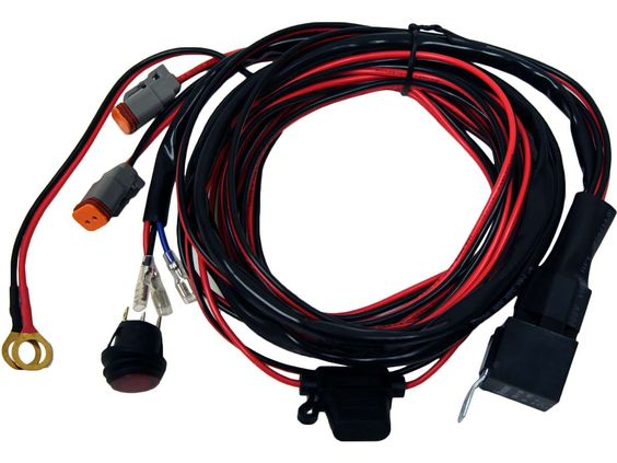 RIGID Wiring Harness - D2 (pair) - Hellfire Offroad Lighting