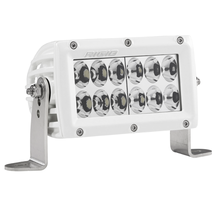 "RIGID E-Series PRO 6"" Driving (White) - Hellfire Offroad Lighting"