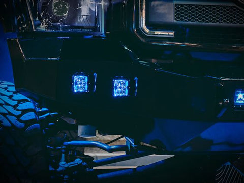 Image of RIGID Radiance Pods - Blue (pair) - Hellfire Offroad Lighting