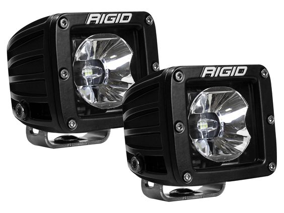 RIGID Radiance Pods - Green (pair) - Hellfire Offroad Lighting