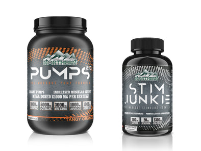 PUMPS 2.0 and STIM JUNKIE combo (40 servings)