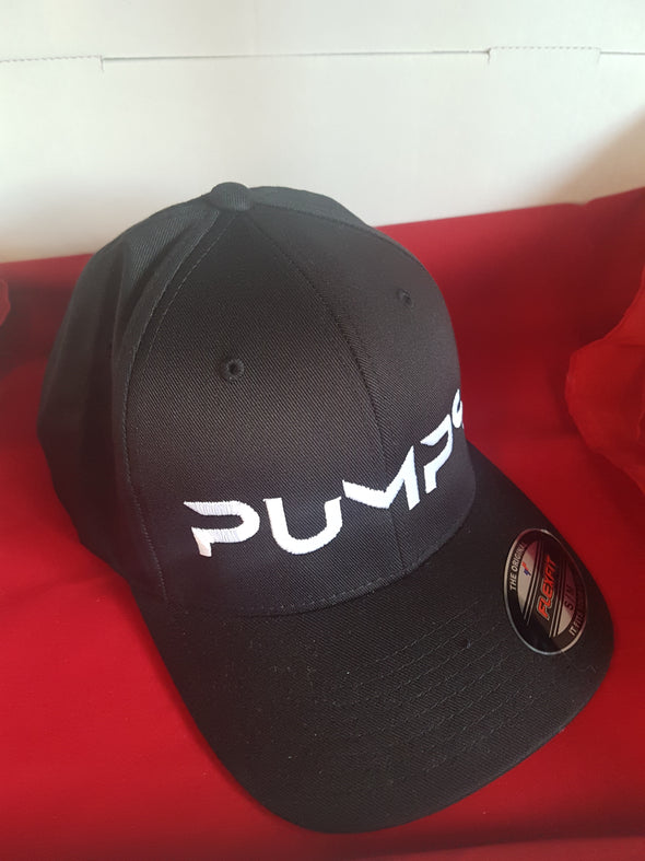 PUMPS Flexfit Hat - Black