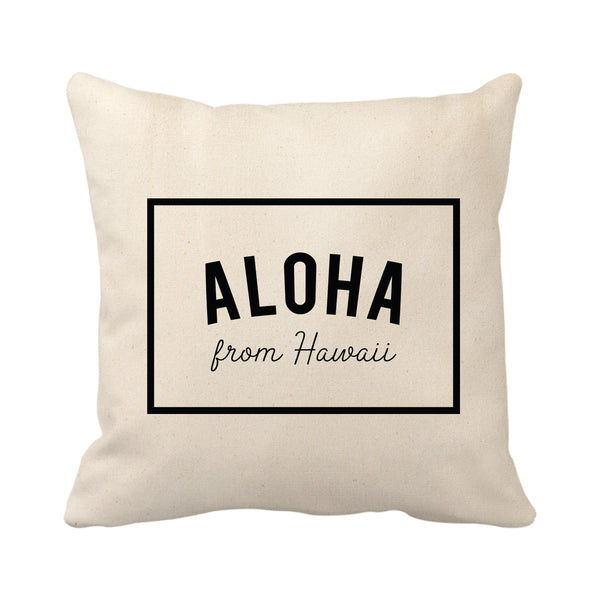 Aloha From Hawaii Frame (Natural)