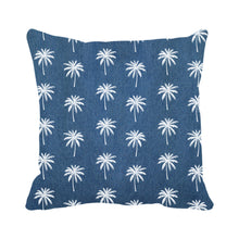 Load image into Gallery viewer, Palm Trees Pattern (Denim)