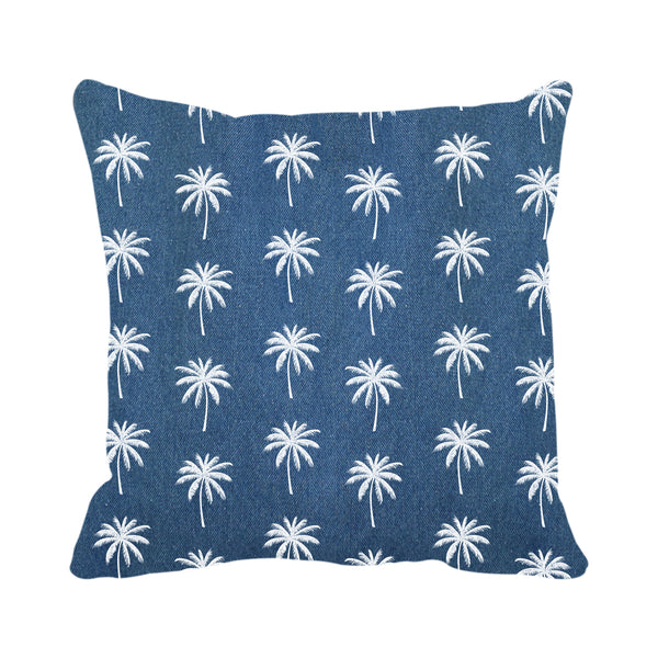 Palm Trees Pattern (Denim)