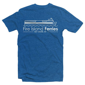 Fire Island Ferries Boys Graphic Tee