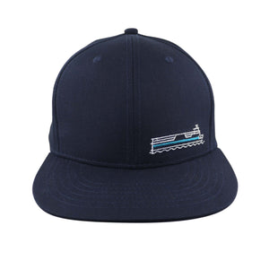 Fire Island Ferries Flat Brim Snap Back Hat