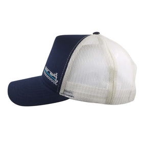 Fire Island Ferries High Profile Trucker Hat