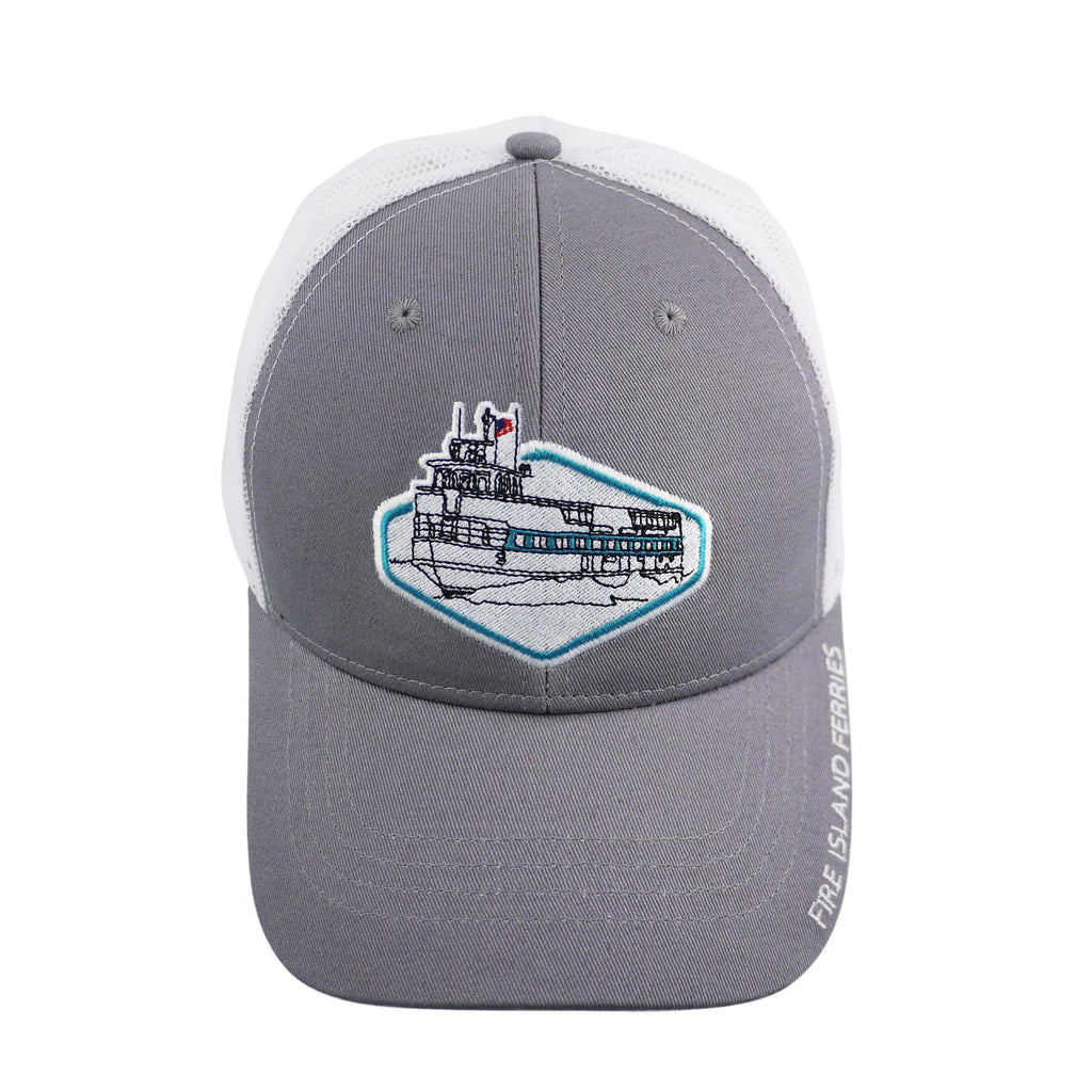 Fire Island Ferries Mid Profile Trucker Hat