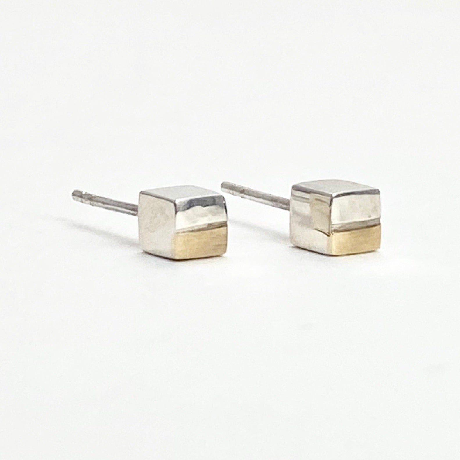 Men's Raise the Bar Earrings with 10K Gold Accent