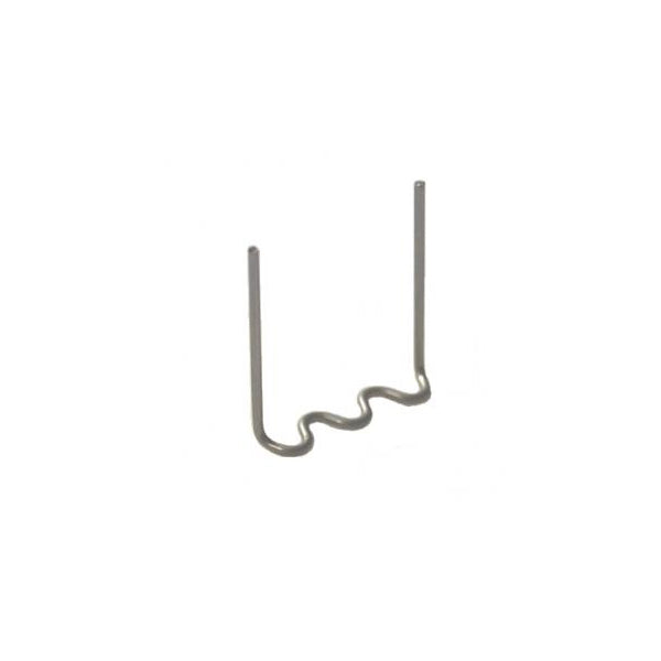 C-PRP-01-3105002 - Staples - Squiggle 3 point 0.7mm (100pk) stainless steel